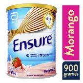 ENSURE SUPLEMENTO NUTRICIONAL 900G PO MORANGO