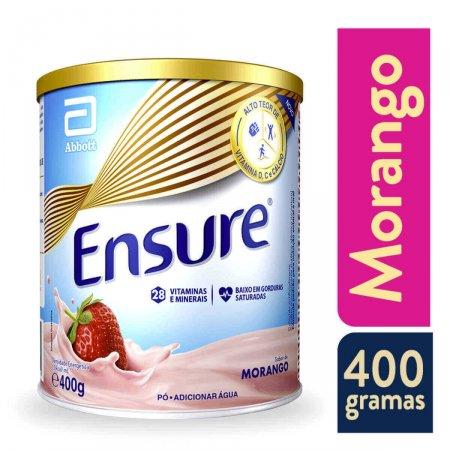 Suplemento Nutricional Ensure Sabor Morango