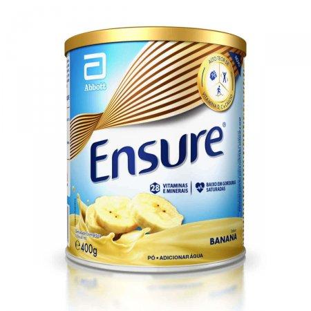 Suplemento Nutricional Sabor Banana 400g Pó Ensure | Drogasil.com Foto 1