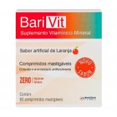 Suplemento Vitamínico-Mineral Barivit Sabor Laranja