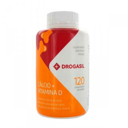 DROGASIL CALCIO + VITAMINA D 120 CAPSULAS