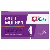 RAIA MULTI MULHER COM 60 CAPSULAS
