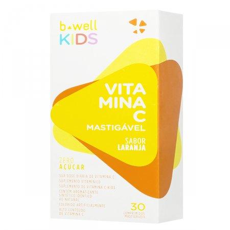 B-WELL VITAMINA C KIDS 30MG 30 COMPRIMIDOS