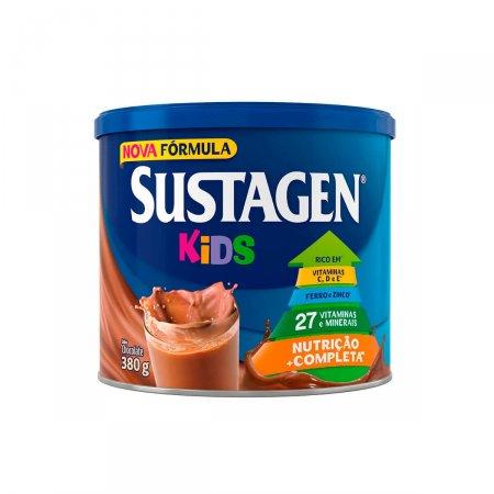 Complemento Alimentar Infantil Sustagen Kids Sabor Chocolate 380g | Drogasil.com Foto 1