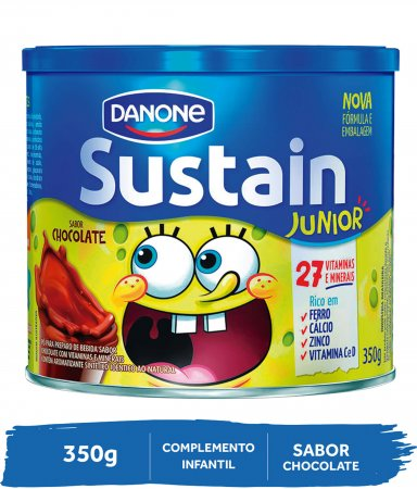 Complemento Alimentar Sustain Junior Sabor Chocolate