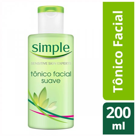 SIMPLE TONICO FACIAL SOOTH 200ML