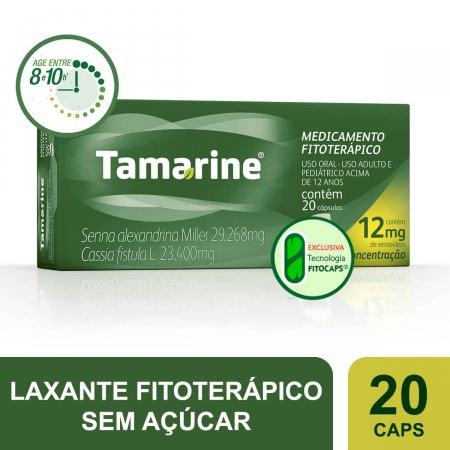 TAMARINE 12 MG COM 20 CAPSULAS