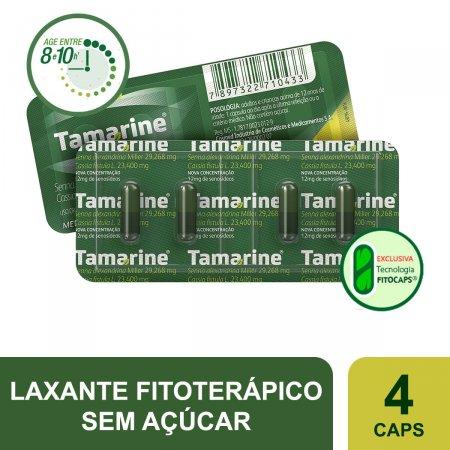 TAMARINE 12 MG BLISTER COM 4 CAPSULAS