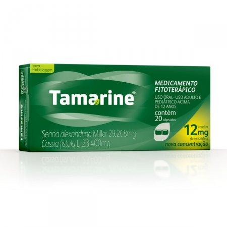 Tamarine 12mg com 20 Cápsulas | Drogasil.com
