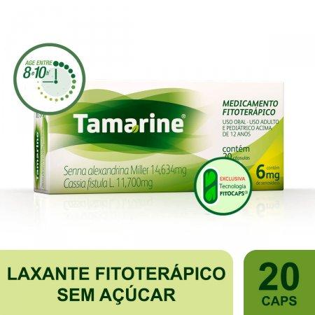 TAMARINE 6 MG COM 20 CAPSULAS