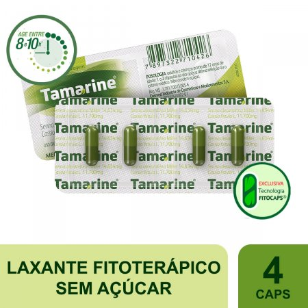 Tamarine 6mg 4 Cápsulas | Drogaraia.com Foto 2
