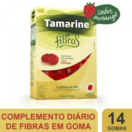 TAMARINE FIBRAS COM 14 GOMAS