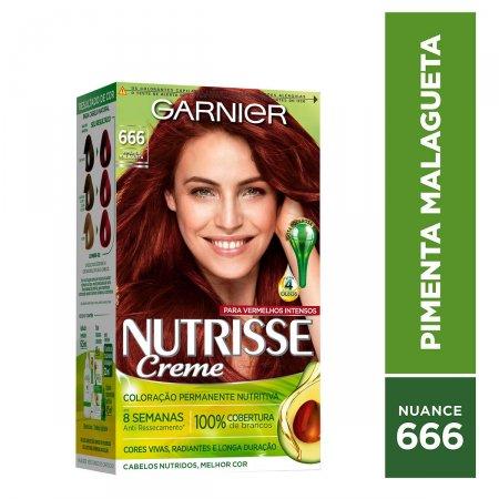 NUTRISSE TINTURA PERMANENTE 666 PIMENTA MALAGUETA