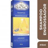 Tio Nacho Engrossador Shampoo com 415ml