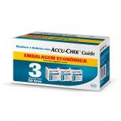 Tiras para Controle de Glicose Accu-Chek Guide