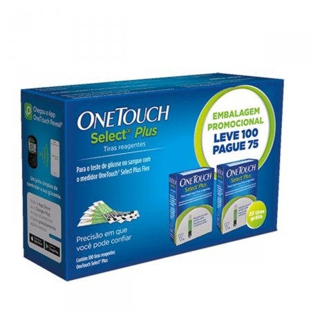 Tiras Reagentes One Touch Select Plus