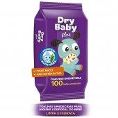 Toalha Umedecida Dry Baby Plus