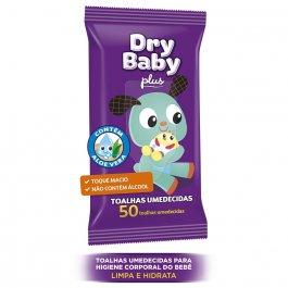 DRY BABY TOALHA UMEDECIDA COM 50 TIRAS