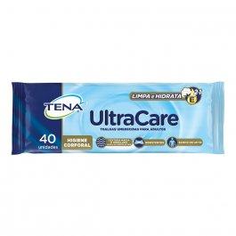 Toalha Umedecida para Adultos Tena UltraCare