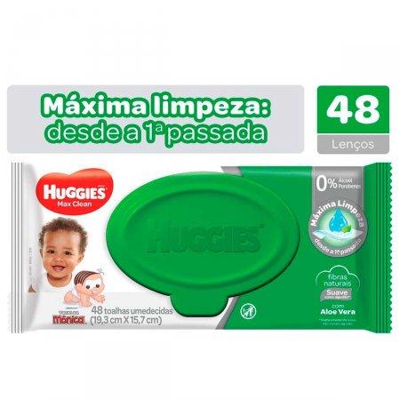Toalhas Umedecidas Huggies Max Clean