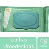 NEEDS BABY TOALHAS UMEDECIDAS COM TAMPA COM 48 UNIDADES