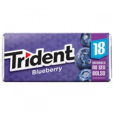 Goma de Mascar Trident Blueberry