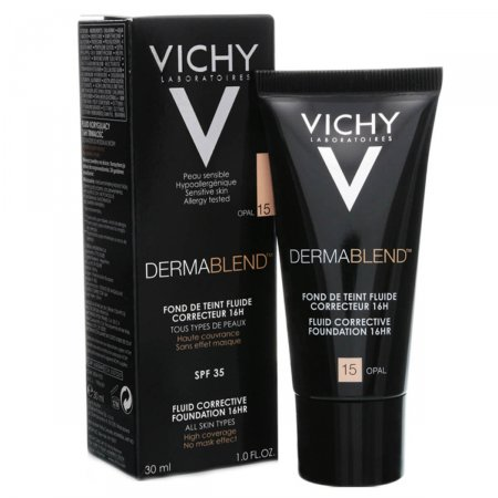 VICHY DERMABLEND BASE FLUIDA FACIAL COR 15  FPS35 30ML