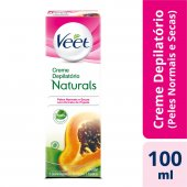 VEET CREME DEPILATORIO NATURALS PAPAYA 100ML