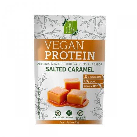 EAT CLEAN VEGAN PROTEIN SALTED CARAMEL 30G