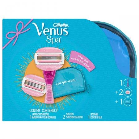 Kit Aparelho de Depilar Gillette Venus SPA