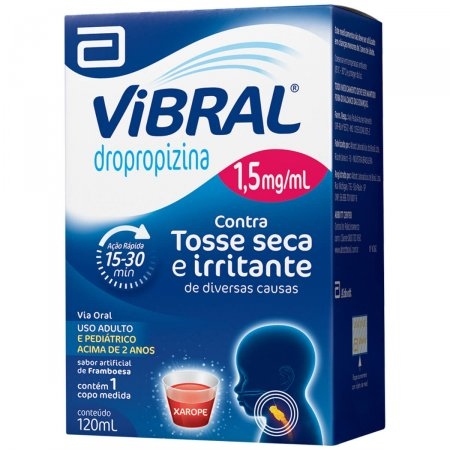 VIBRAL 1,5 MG XAROPE PEDIATRICO 120 ML