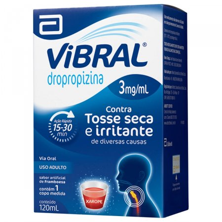 VIBRAL 3MG XAROPE ADULTO 120ML