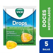 Pastilhas Vick Drops Sabor Limão