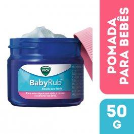 Pomada Calmante Vick BabyRub para Bebês com 50g