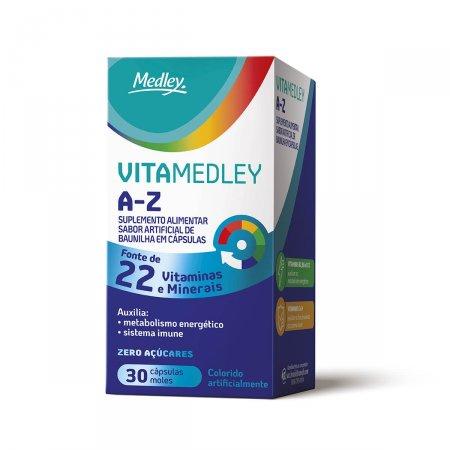 VitaMedley A-Z com 30 Cápsulas | Drogasil.com