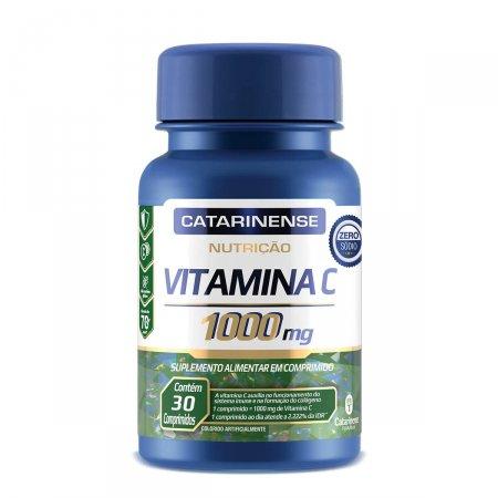 CATARINENSE VITAMINA C NUTRIÇÃO 1000 MG 30 COMPRIMIDOS
