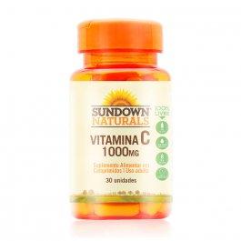 Vitamina C 1000mg Sundown com 30 Cápsulas