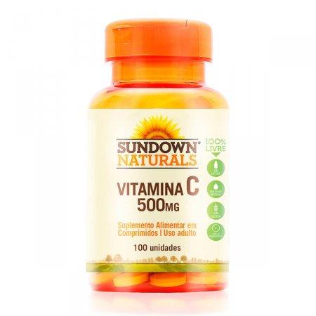 Vitamina C 500mg Sundown com 100 Comprimidos