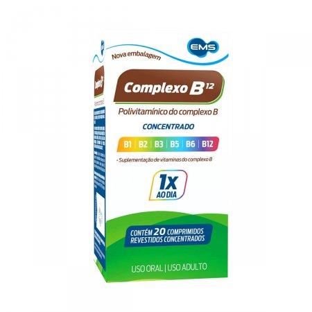 COMPLEXO B EMS COM 20 DRAGEAS