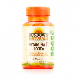 Vitamina E 1000UI Sundown com 50 Comprimidos