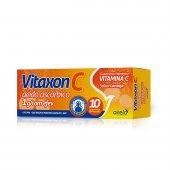 VITAXON C 1G SABOR LARANJA 10 COMPRIMIDOS EFERVESCENTES