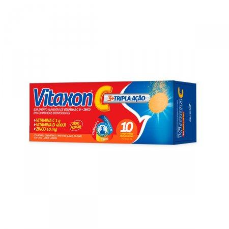 Vitamina C Vitaxon C Tripla Ação com 10 comprimidos
