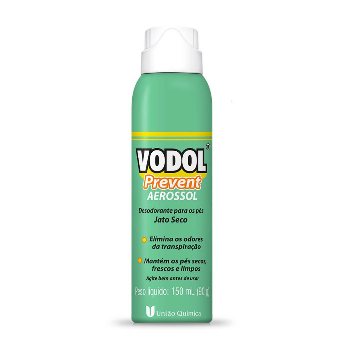 Desodorante Aerosol para os Pés Vodol Prevent 150ml 150ml Aerossol