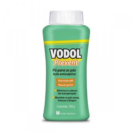 Vodol Prevent Sem Perfume Pó 100g   Drogasil.com Foto 1