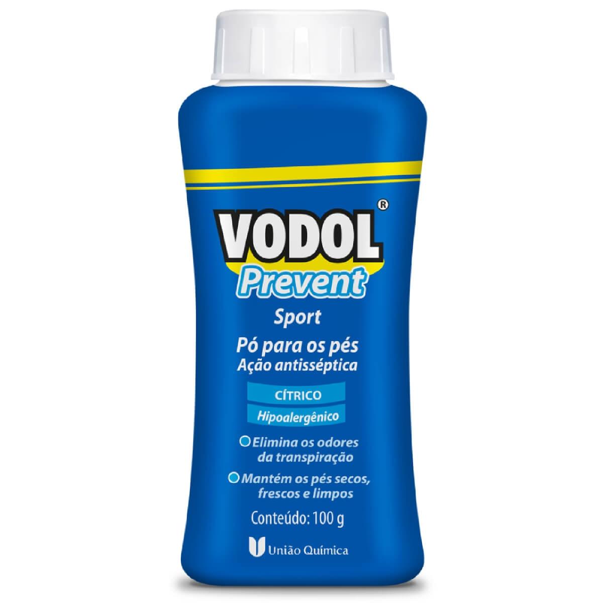 Pó para os Pés Vodol Prevent Sport 100g 100g