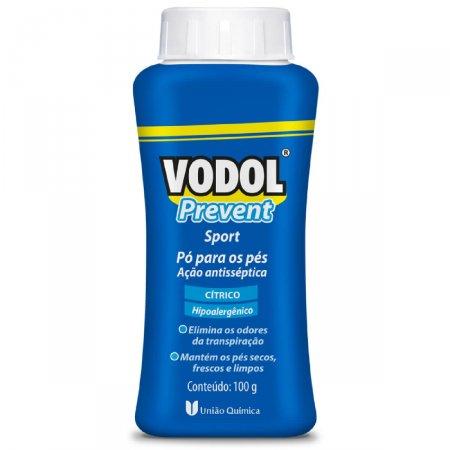 Pó para os Pés Vodol Prevent Sport 100g Foto 1