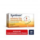 Xantinon com 30 Comprimidos