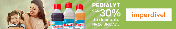 Pedialyte com 30% off na 2ª