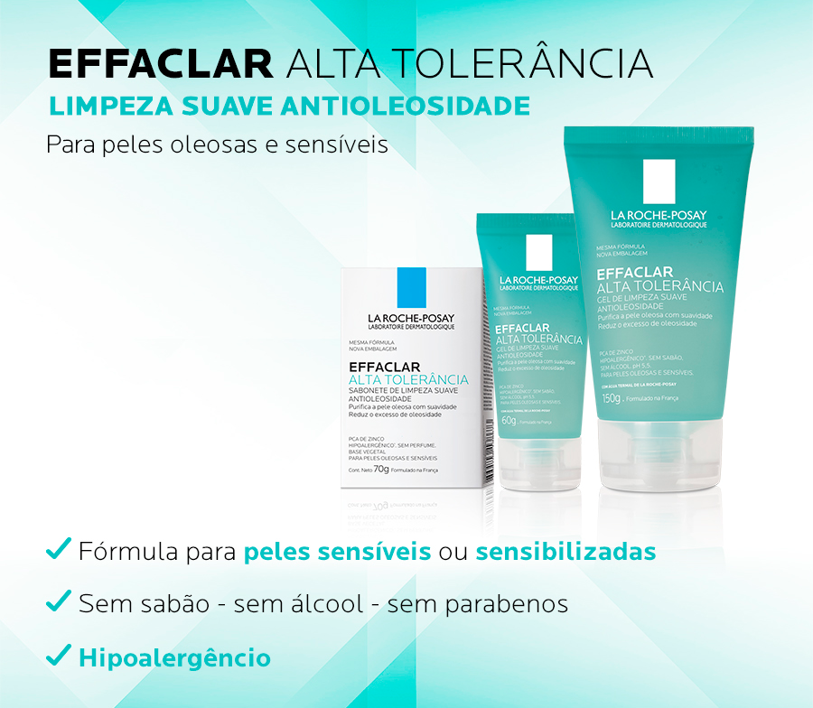 Effaclar Alta Tolerancia
