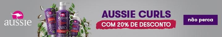 Aussie Curls com 20% de desconto, Drogasil